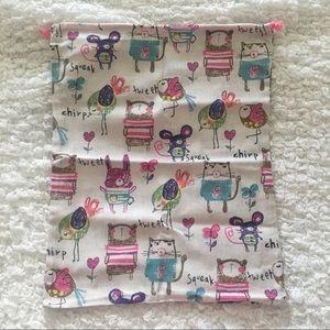 💕19.5 x 15.5 inches💕 Cute Animals Drawstring Bag